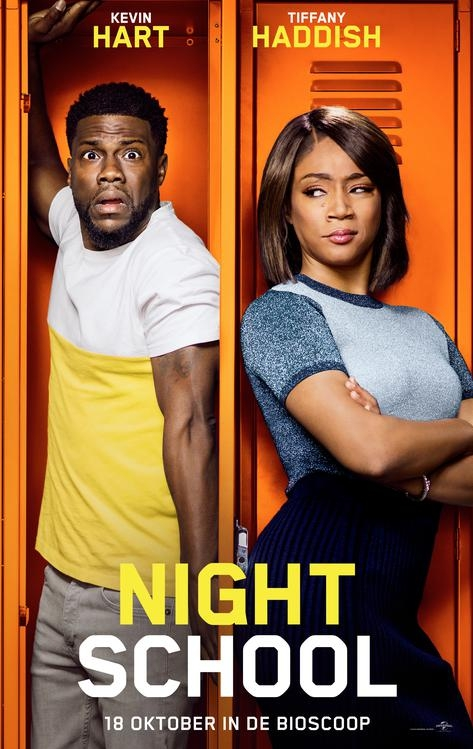 Night School poster, © 2018 Universal Pictures International