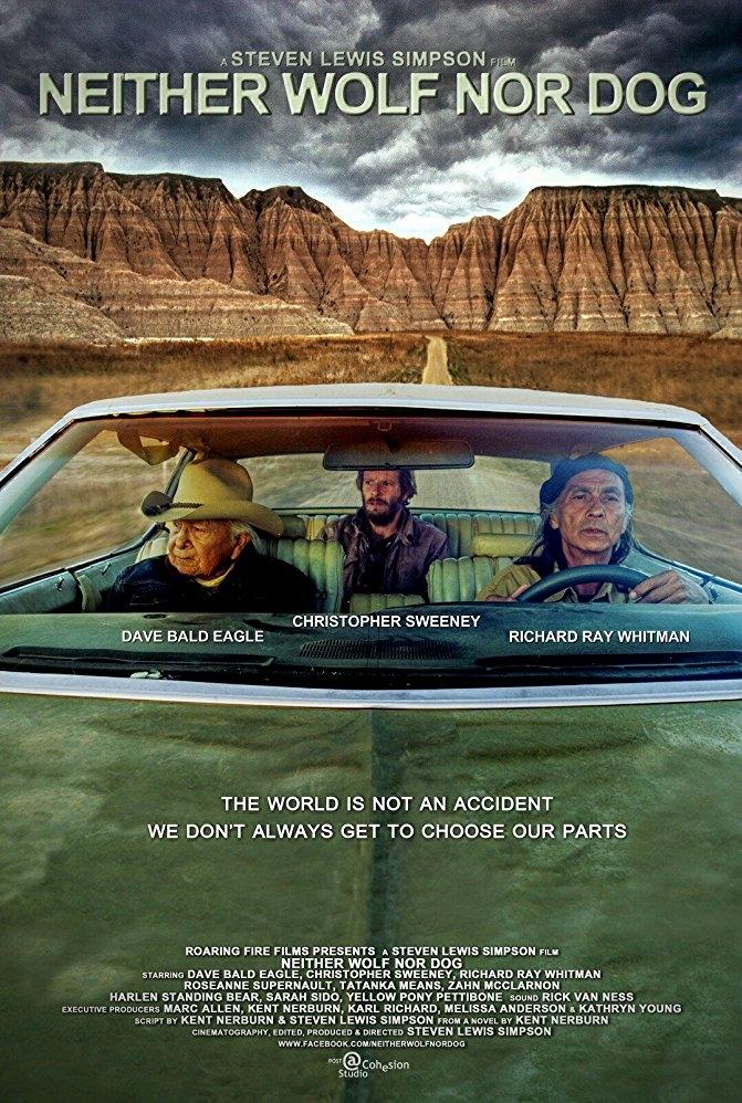 Neither Wolf Nor Dog poster, copyright in handen van productiestudio en/of distributeur