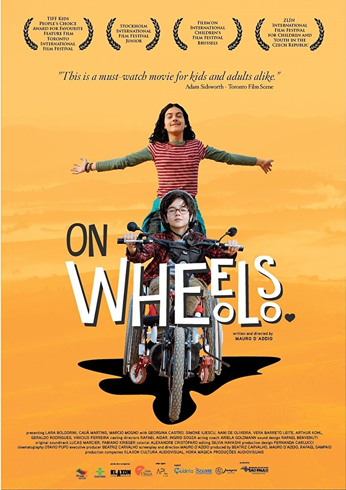 On Wheels poster, copyright in handen van productiestudio en/of distributeur
