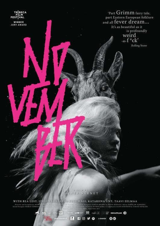 November poster, © 2017 Cinemien