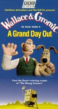 Poster 'Wallace & Gromit: A Grand Day Out' (c) 1992