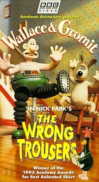 Poster 'Wallace & Gromit: The Wrong Trousers' (c) 1993