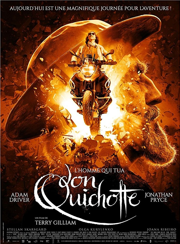 The Man Who Killed Don Quixote poster, copyright in handen van productiestudio en/of distributeur
