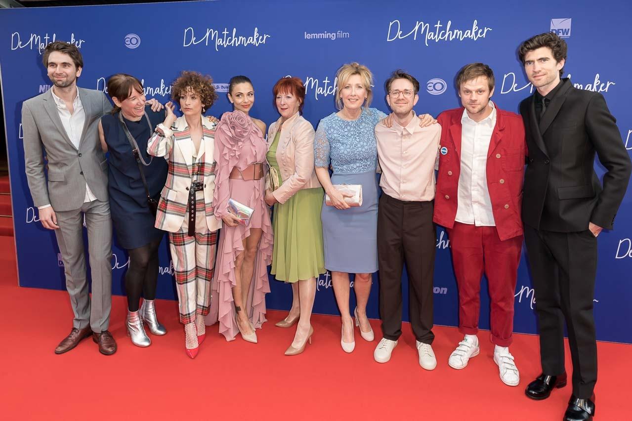 De cast van 'De Matchmaker' (c) ArjoFrank 2018