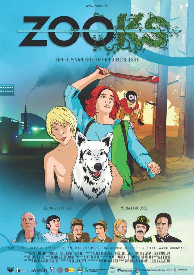 ZOOks poster, copyright in handen van productiestudio en/of distributeur