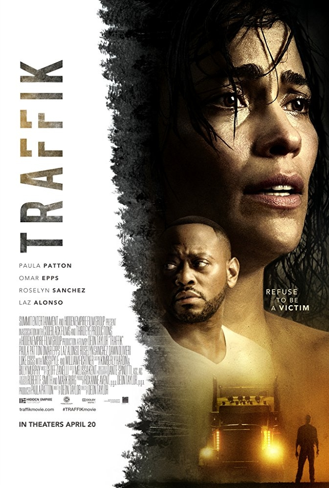 Traffik poster, copyright in handen van productiestudio en/of distributeur