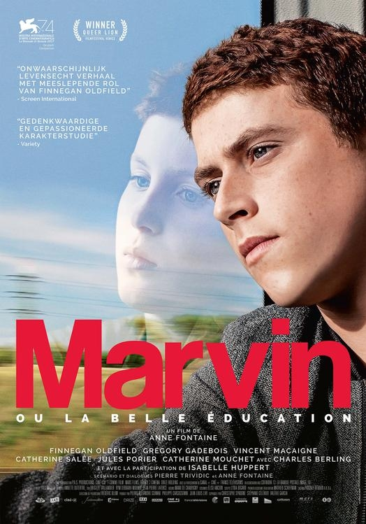 Marvin ou la belle éducation poster, © 2017 Arti Film