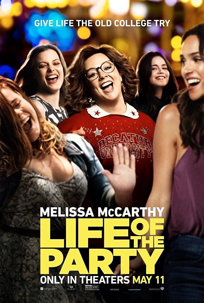 Life of the Party poster, copyright in handen van productiestudio en/of distributeur