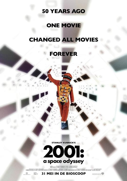2001: A Space Odyssey poster, © 1968 Warner Bros.
