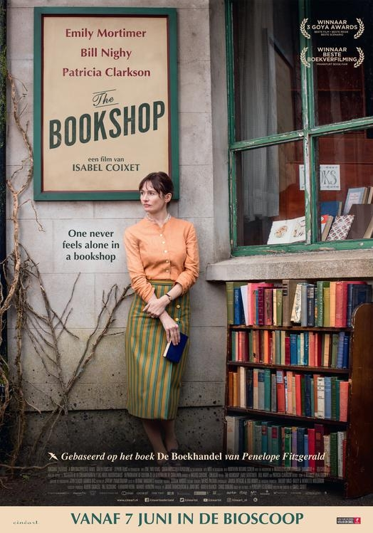 The Bookshop poster, © 2017 Cinéart