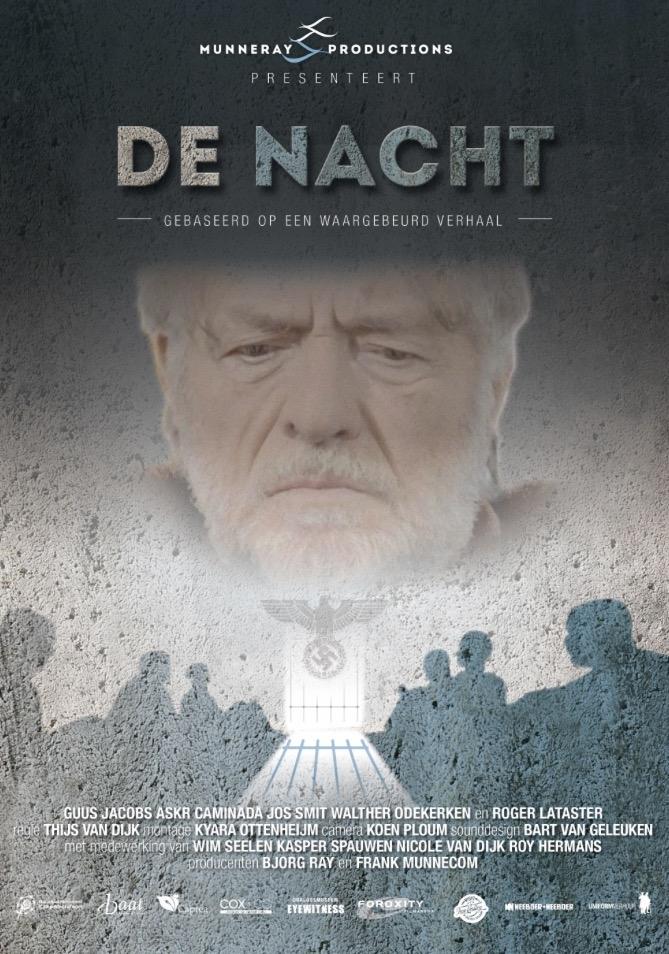 De Nacht poster, copyright in handen van productiestudio en/of distributeur