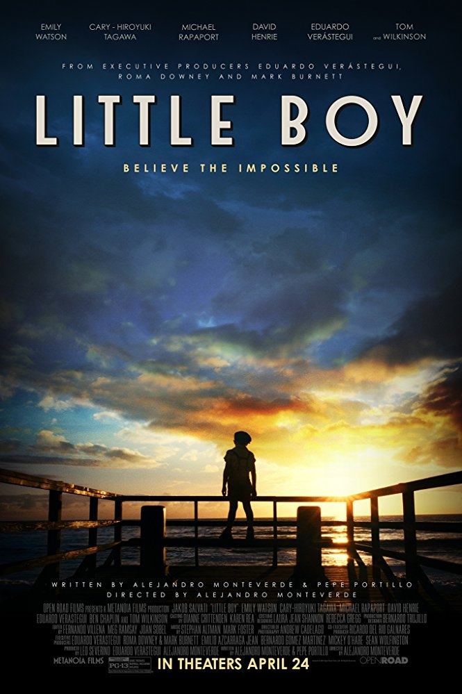 Little Boy poster, copyright in handen van productiestudio en/of distributeur