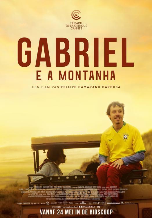 Gabriel e a montanha poster, © 2017 September