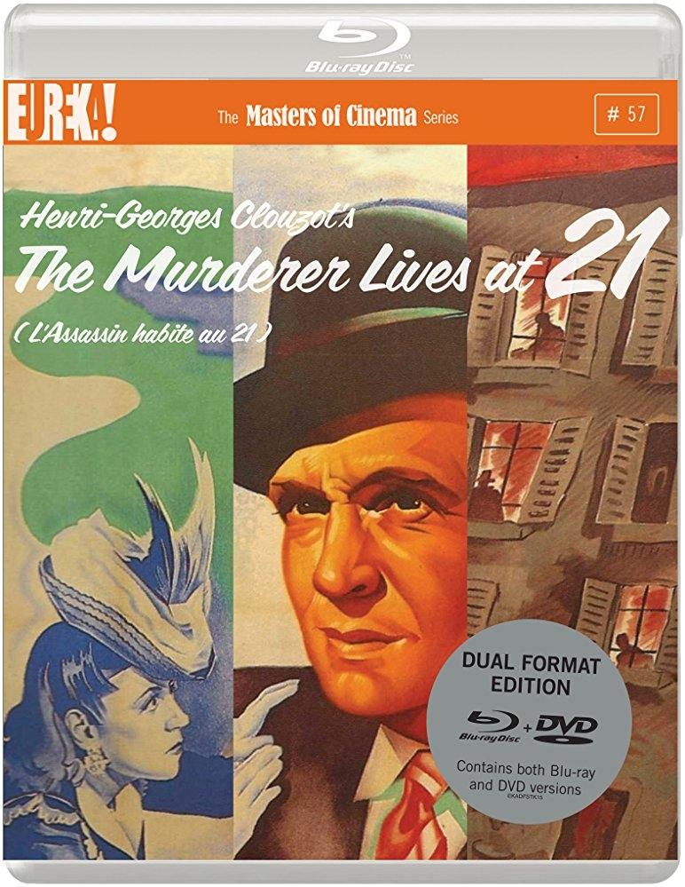 The Murderer Lives at Number 21 poster, copyright in handen van productiestudio en/of distributeur