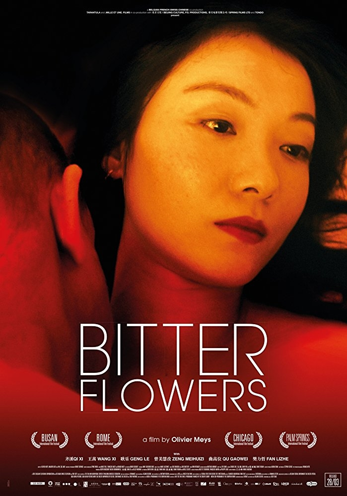 Bitter Flowers poster, copyright in handen van productiestudio en/of distributeur