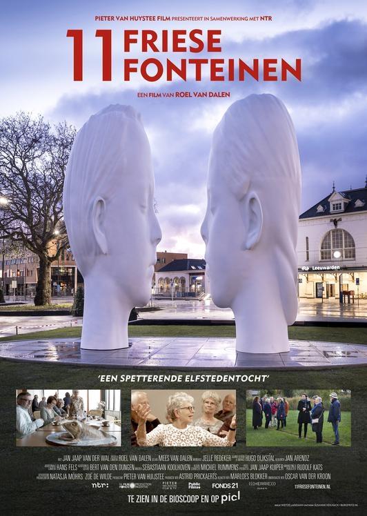 11 Friese Fonteinen poster, © 2018 Herrie film & TV