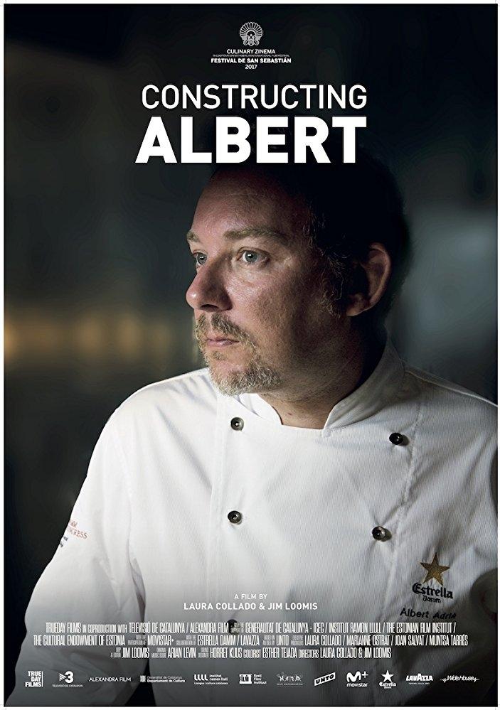 Constructing Albert poster, © 2017 Cinema Delicatessen