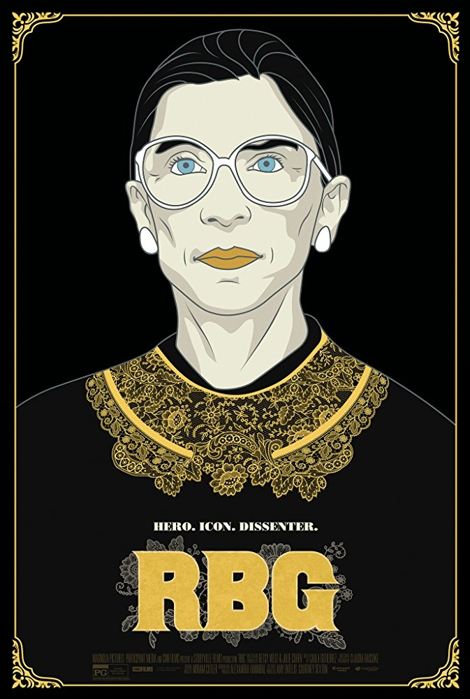 RBG poster, copyright in handen van productiestudio en/of distributeur