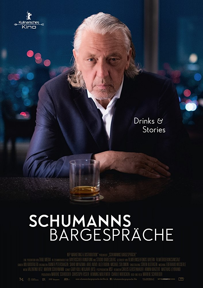 Schumann's Bar Talks poster, © 2017 Cinema Delicatessen