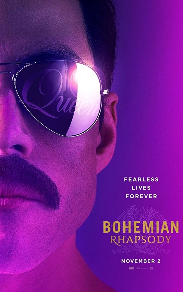 Bohemian Rhapsody poster, copyright in handen van productiestudio en/of distributeur