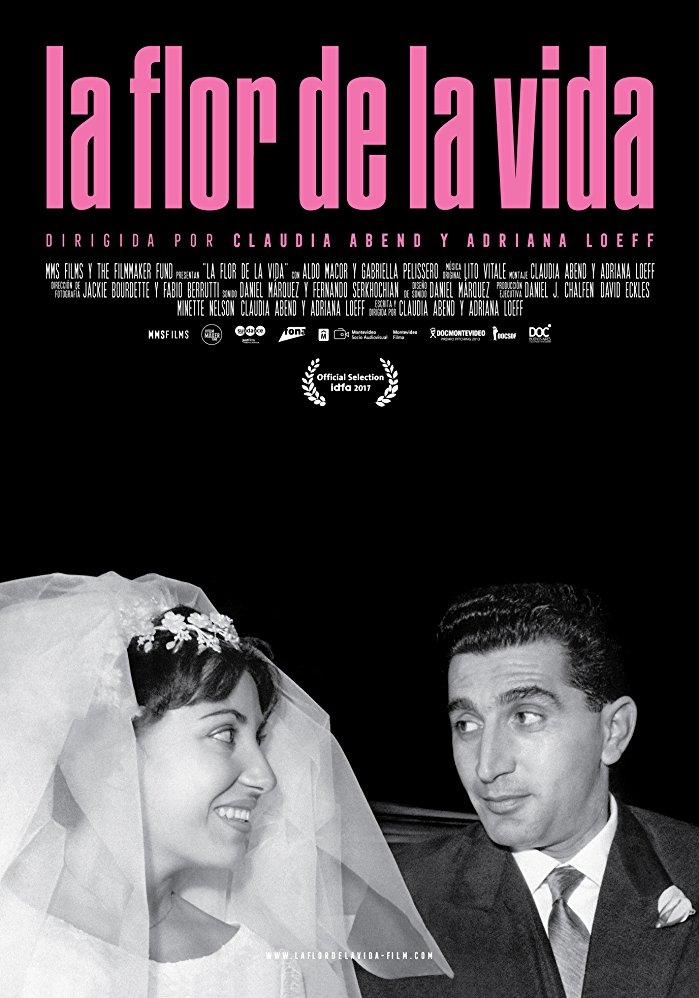 La Flor de la Vida poster, copyright in handen van productiestudio en/of distributeur