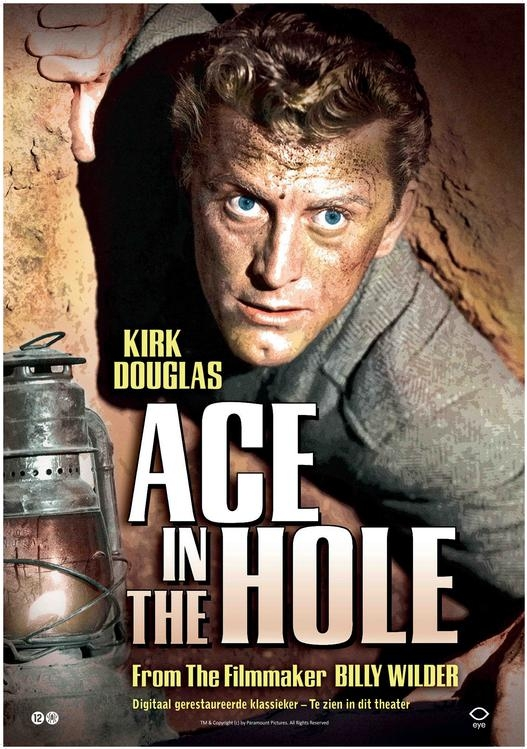 Ace in the Hole poster, © 1951 Eye Film Instituut