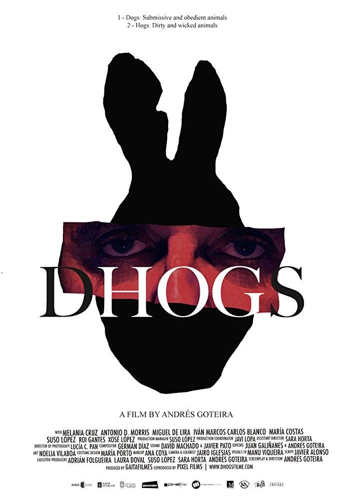 Dhogs poster, copyright in handen van productiestudio en/of distributeur