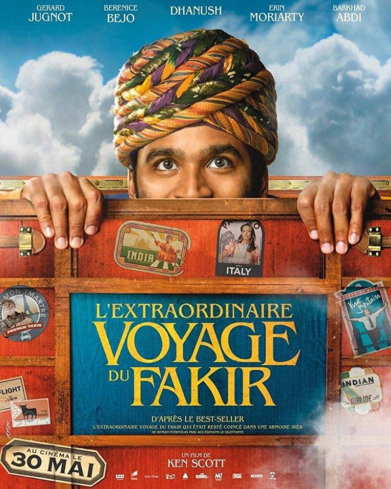 The Extraordinary Journey of the Fakir poster, copyright in handen van productiestudio en/of distributeur