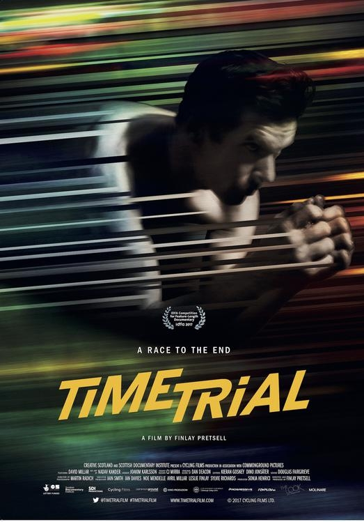 Time Trial poster, copyright in handen van productiestudio en/of distributeur
