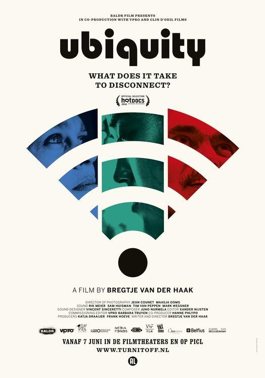 Ubiquity poster, © 2018 Cinema Delicatessen