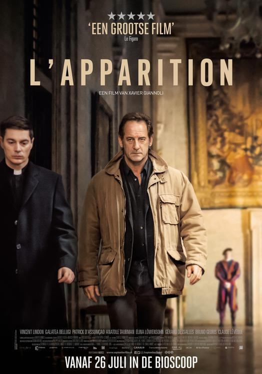 L'apparition poster, © 2018 September