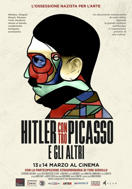 Hitler versus Picasso and the Others poster, copyright in handen van productiestudio en/of distributeur
