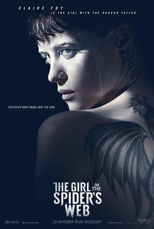The Girl in the Spider's Web poster, © 2018 Universal Pictures International
