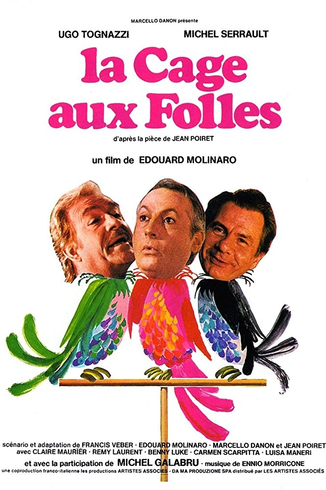 La Cage aux Folles poster, copyright in handen van productiestudio en/of distributeur