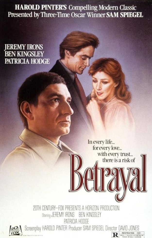 Betrayal poster, copyright in handen van productiestudio en/of distributeur