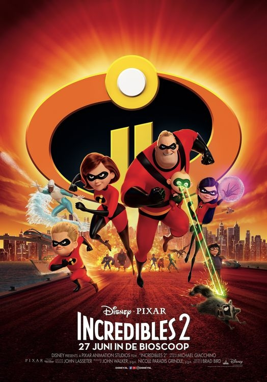 Incredibles 2 poster, © 2018 Walt Disney Pictures