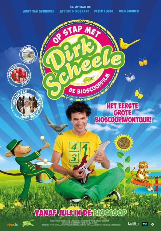 Op stap met Dirk Scheele poster, © 2018 Just Film Distribution