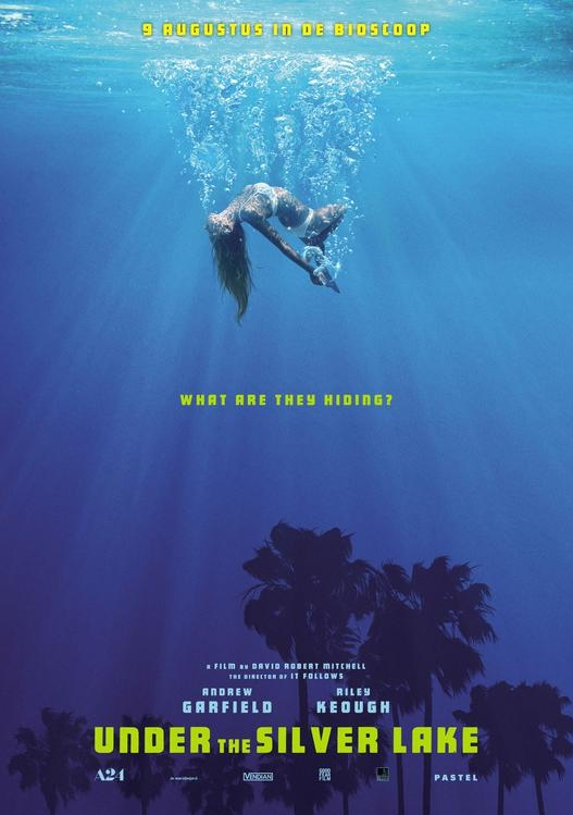Under the Silver Lake poster, © 2018 The Searchers