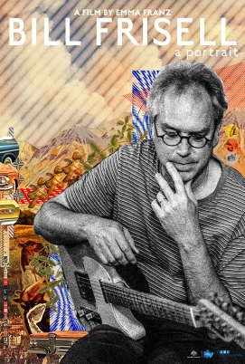 Bill Frisell: A Portrait poster, copyright in handen van productiestudio en/of distributeur