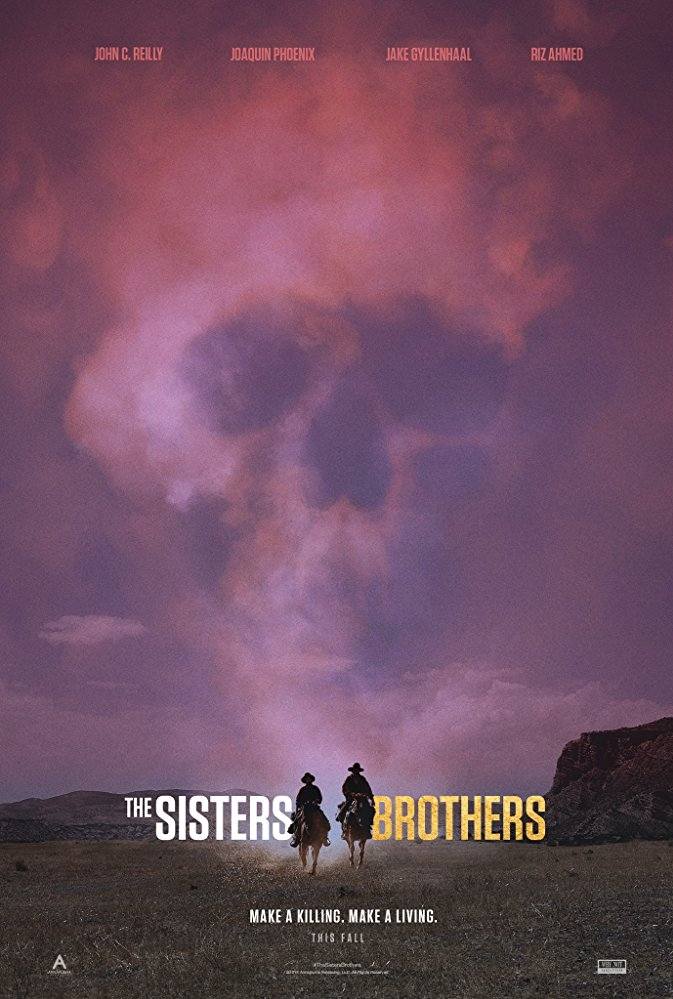The Sisters Brothers poster, © 2018 The Searchers