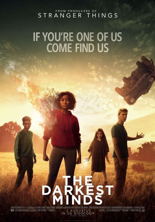 The Darkest Minds poster, © 2018 20th Century Fox