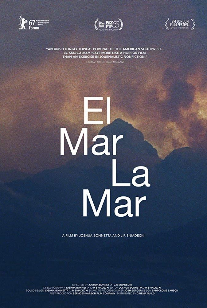 El mar la mar poster, copyright in handen van productiestudio en/of distributeur