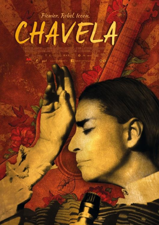 Chavela poster, © 2017 Cherry Pickers