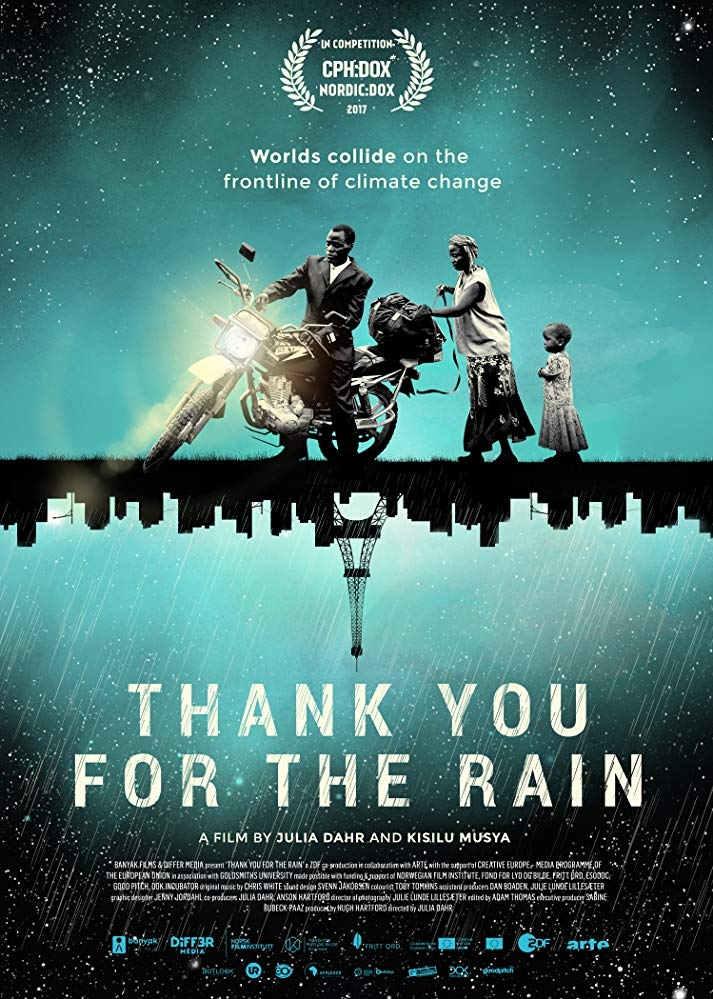 Thank You for the Rain poster, copyright in handen van productiestudio en/of distributeur