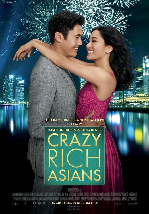 Crazy Rich Asians poster, © 2018 Warner Bros.