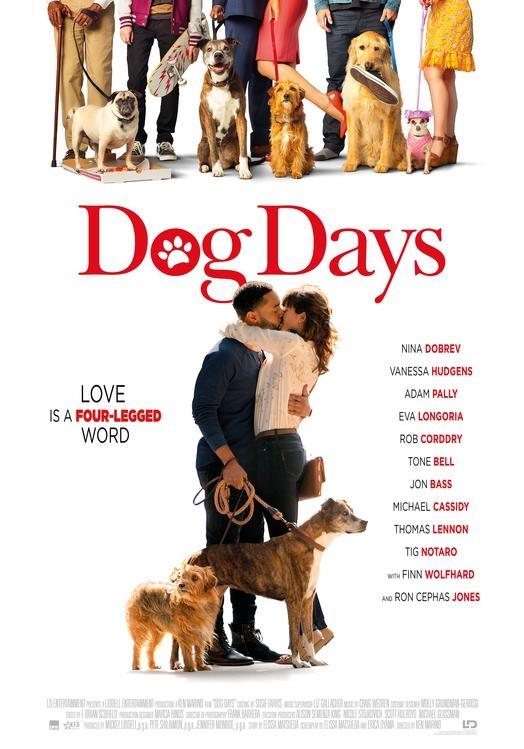 Dog Days poster, © 2018 Dutch FilmWorks