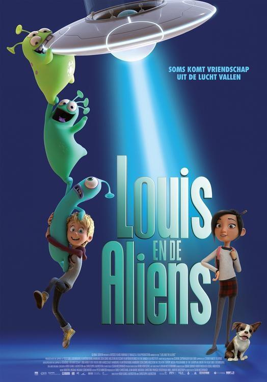 Louis en de Aliens (NL) poster, © 2018 Dutch FilmWorks