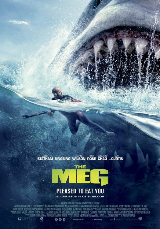 The Meg poster, © 2018 Warner Bros.