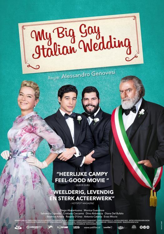 My Big Gay Italian Wedding poster, © 2018 Arti Film