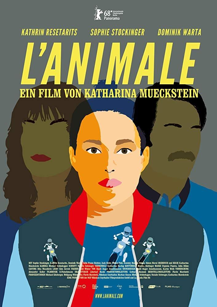 L'animale poster, copyright in handen van productiestudio en/of distributeur